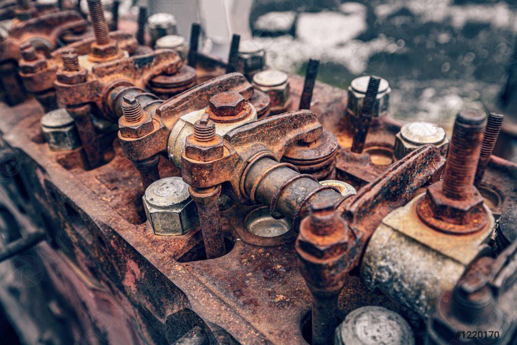 Motore arrugginito? Cosa fare e come evitarlo